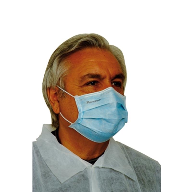 Toutes les promotions Masque élastique bleu 3 plis - Aérokyn LCH - Boite de 50
