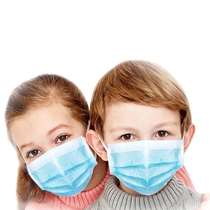 Masques Masque de chirurgie Enfant - Avec élastique - Mask +RE Medistock - Boite de 50