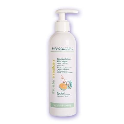 Crèmes & Huiles Huile sèche Melon - Phytomédica - 100% végétale - Flacon de 250 ml