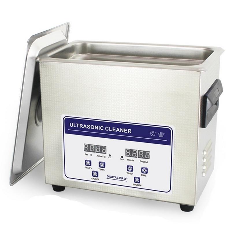 Nettoyeur à ultra-sons Nettoyeur à ultra sons digital - Avec chauffage - 3,2 litres