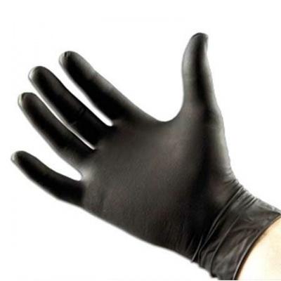 Gants Nitrile Gants nitrile noir sans poudre EMILABO- Boite x 100 - Toutes tailles