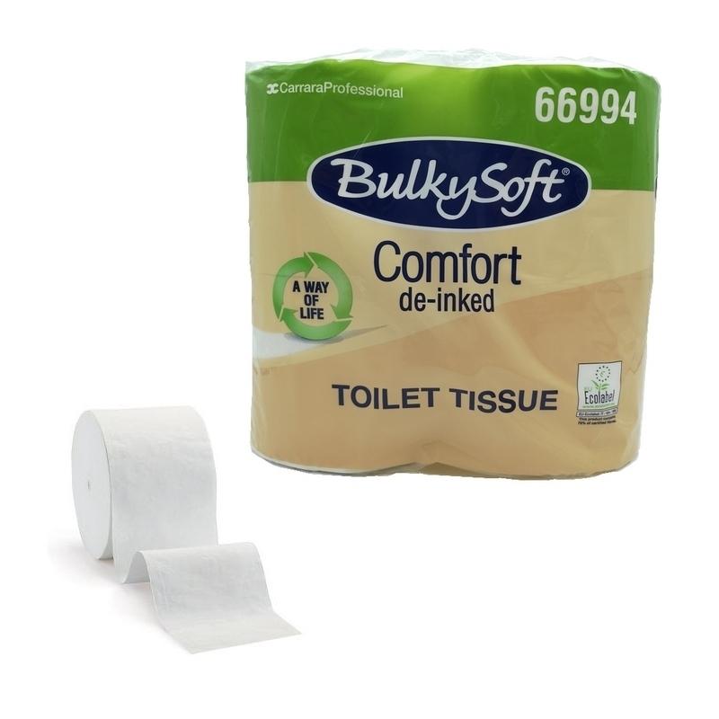 Papier toilette & Hygiénique Papier toilette Comfort BulkySoft - Ecolabel 500 feuilles 2 plis - Ballot de 4 rouleaux