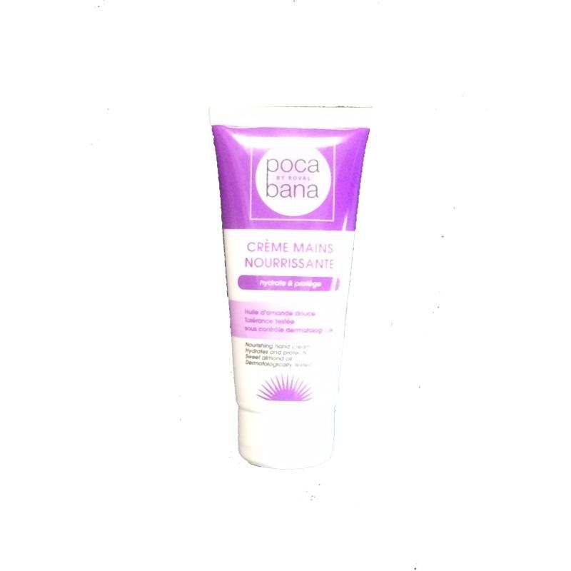 Soin de la peau Crème mains Poca Bana - Tube 100 ml