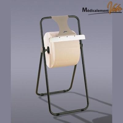 Distributeur papier Porte bobine mécano - Modèle verticale - Lame Inox
