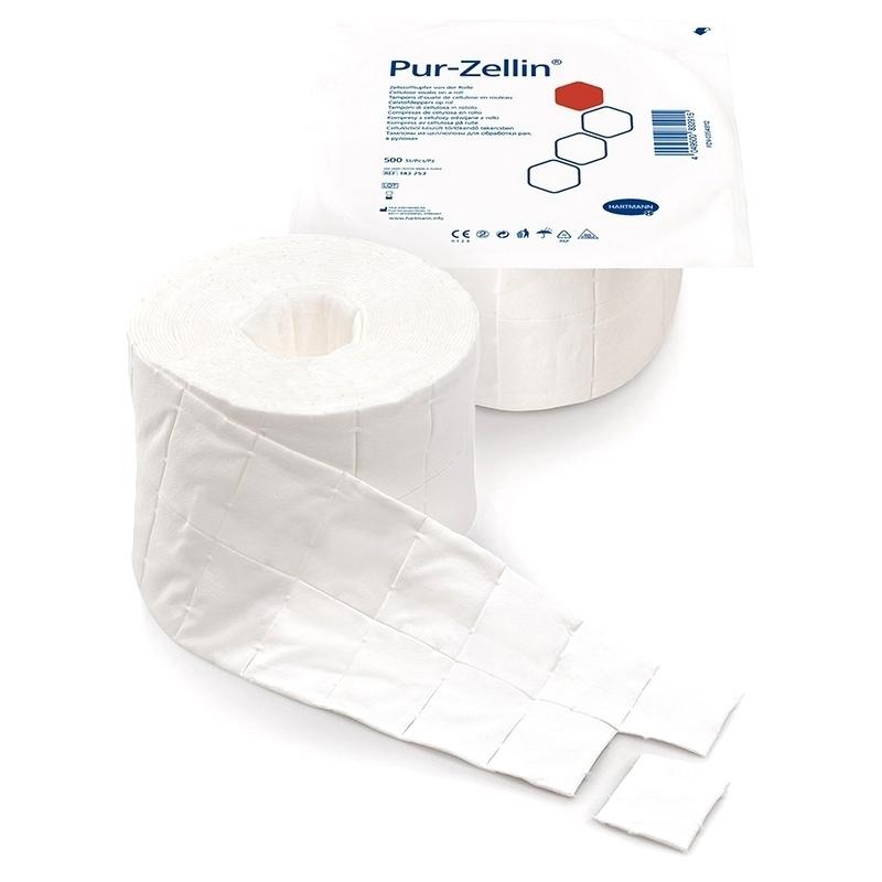 Coton  Tampon absorbant Pur Zellin - Hartmann - Rouleau de 500 pièces