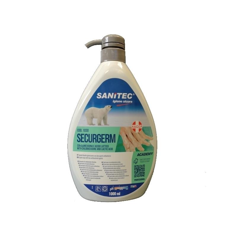 Toutes les promotions Savon liquide antibactérien - Securgem Sanitec - Flacon de 1 litre