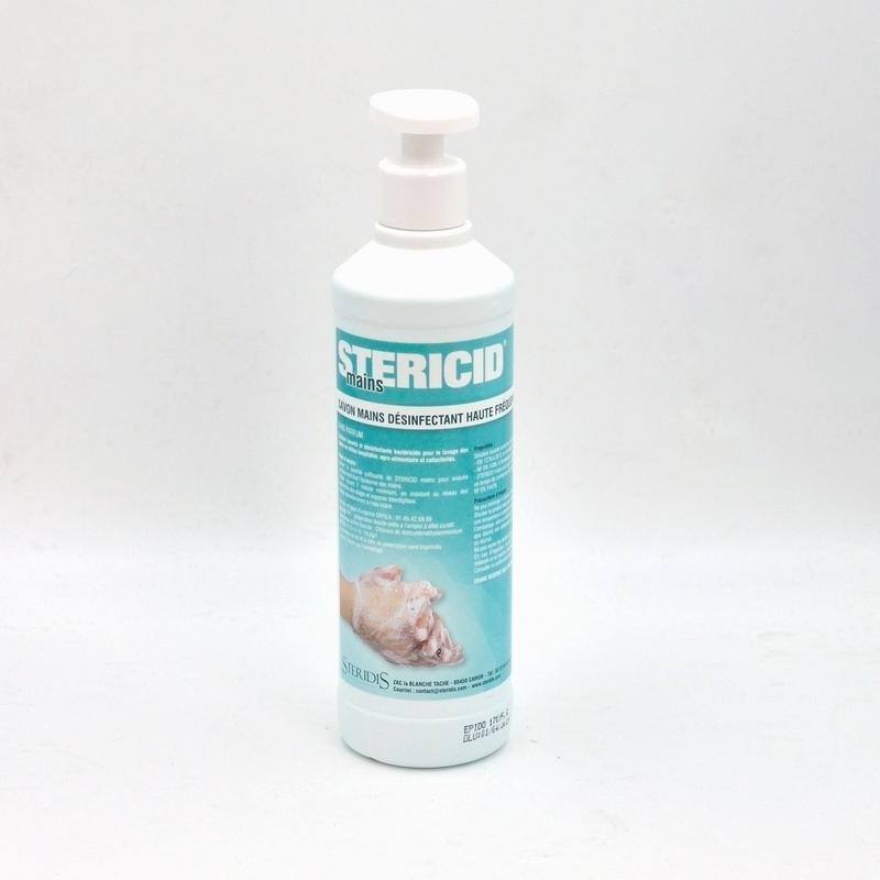 Savon mains Stericid mains - Savon désinfectant - Flacon de 500 ml