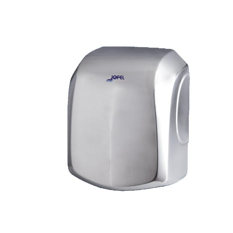 Sèche mains Sèche mains à air - acier inox ou brossé - Jofel
