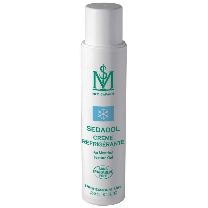 Crème de massage Crème réfrigérante Sedadol - Au menthol - Médicafarm - Tube de 250 ml