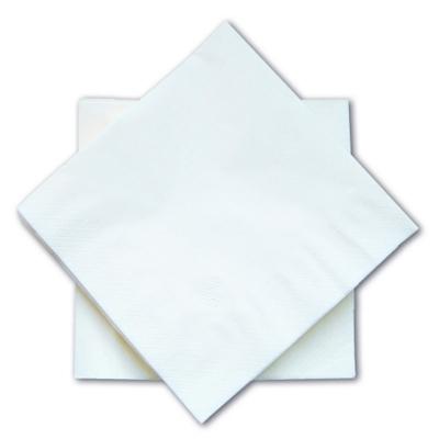 Serviettes Serviettes blanches 2 plis - 30 x 30 - Carton de 3000
