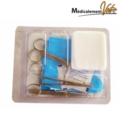 Set de soins et champs opératoires Set de suture n°1 - unitaire