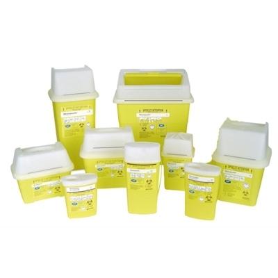 Collecte des déchets Collecteurs d'aiguilles et déchets infectieux SHARPSAFE - toutes tailles