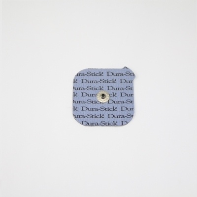Electrodes Électrodes carrées à snap 50 x 50 mm - Dura Stick Plus Cefar Compex - Paquet de 4 - Référence 42204