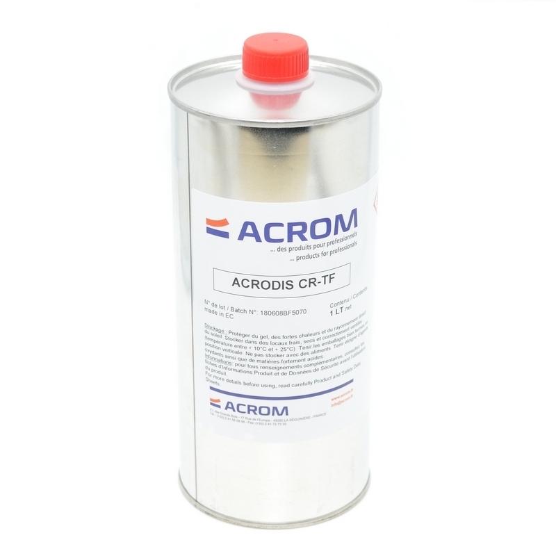 Matériaux semelles Solvant Acrom - Bidon 1 litre
