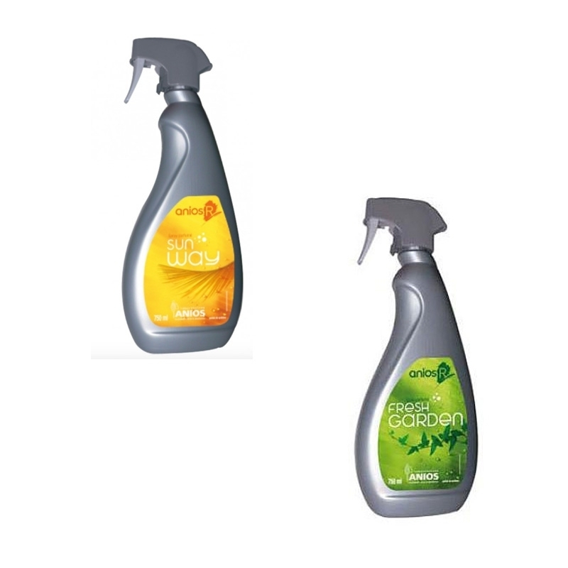 Sols et surfaces Nettoyant sols / surfaces Anios R - Fresh Garden ou Sun Way - Spray 750 mL