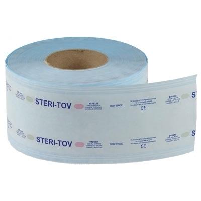 Gaine de stérilisation Steri Tov - Autoclavable bleue - Toutes tailles