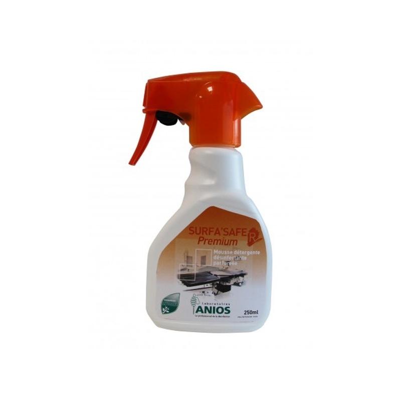 Sols et surfaces Surfa Safe R Premium - Mousse parfumée Détergente & désinfectante - Flacon de 250 ml - ANIOS