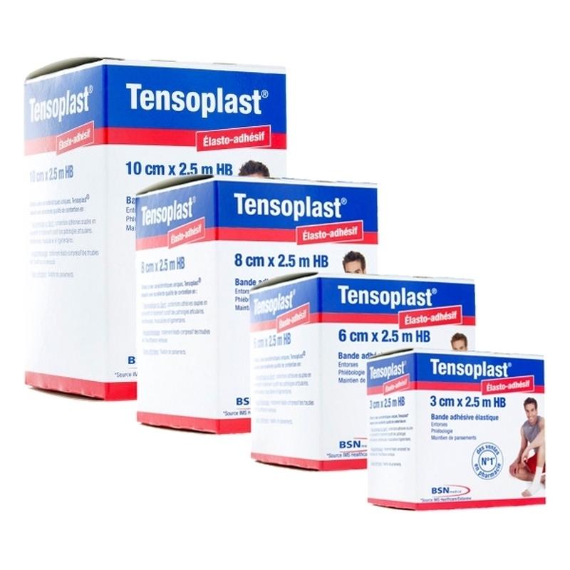 Adhésif Tensoplast Elastoplast BSN - Bande adhésive élastique - Toutes tailles
