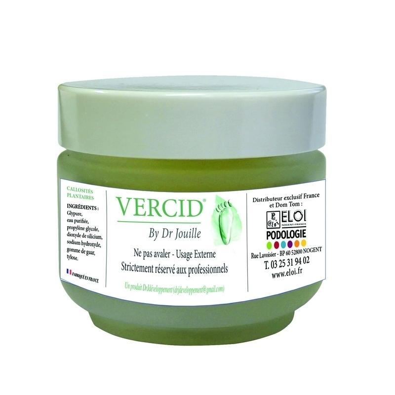 Verrues Vercid by Dr Jouille - Traitement callosités plantaires -  Pot de 50 ml
